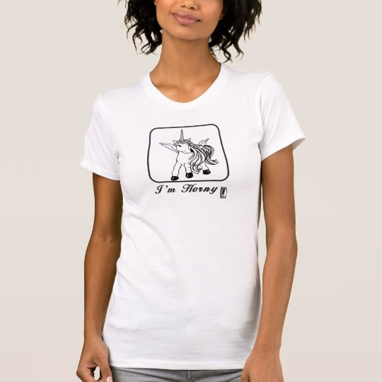Hornig das Einhorn T-Shirt