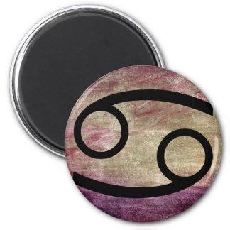 Horoskop-Symbol für Krebs-Zeichen-Magneten Runder Magnet 5,7 Cm
