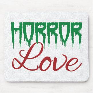 Horror-Liebe Mauspad