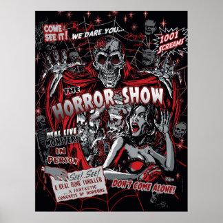 Horrorfilm Monster Spookshow Poster