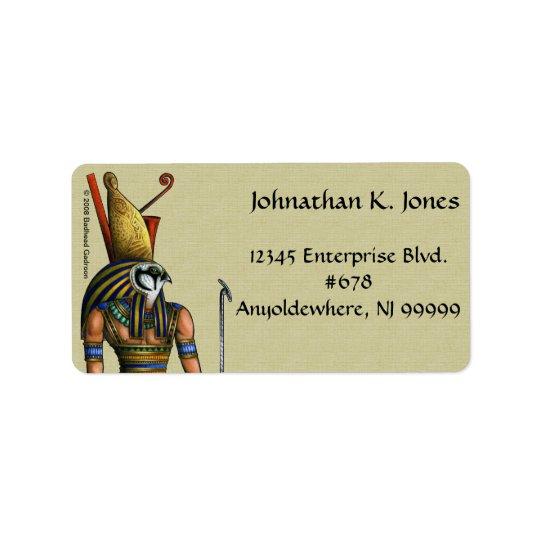 Horus Adressen-Etikett Adressetikett