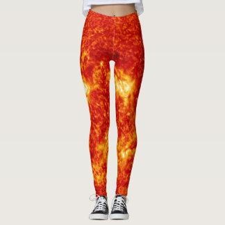 Hosen auf Feuer Leggings