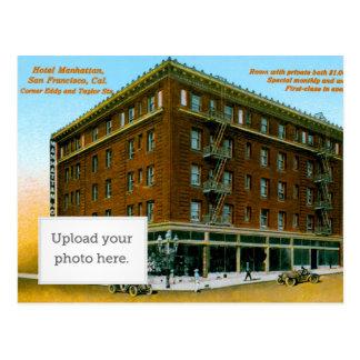 Hotel Manhattan Postkarte