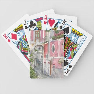 Hotel Palermo in Ravello, Spielkarten Italiens
