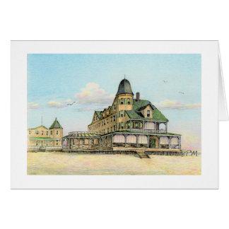 "Hotel Pauls McGehee ""Plimhimmon - Ozean-Stadt, MD. Karte"