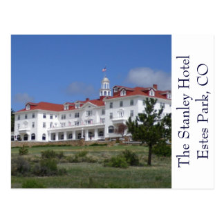 Hotel-Postkarte Estes Park-Colorados Stanley Postkarte