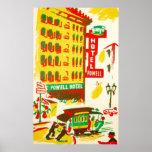 Hôtel San Francisco de Powell Posters