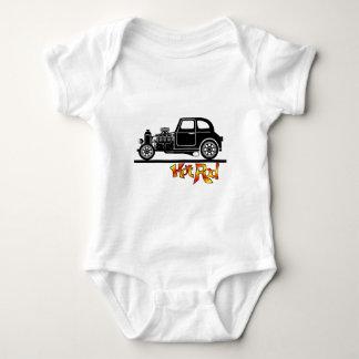 hotrod baby strampler