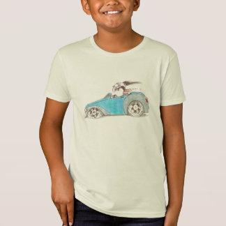 Hotrod Cartoon auf KinderT - Shirt