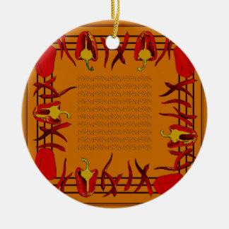 Hots und Süßigkeiten #11 Keramik Ornament
