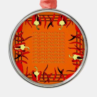 Hots und Süßigkeiten #12 Silbernes Ornament