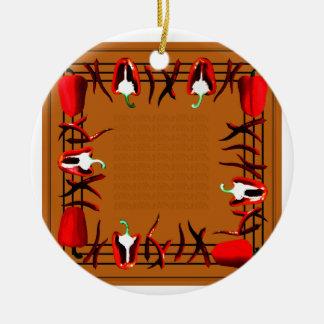 Hots und Süßigkeiten #14 Keramik Ornament