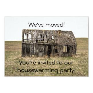 Housewarming-neues Zuhause/Adressen-Party Karte