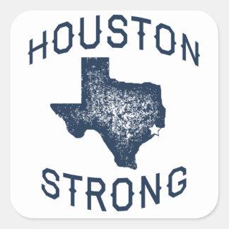 Houston stark - Harvey Quadratischer Aufkleber