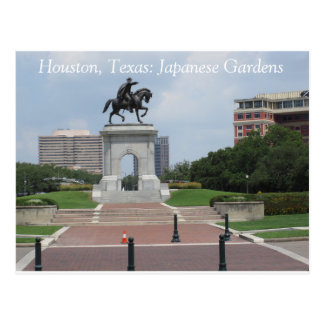 Houston, Texas: Japanische Gärten - Postkarte