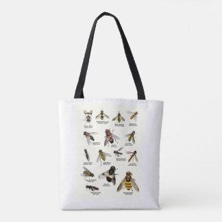 Hoverfly Taschen-Tasche Tasche