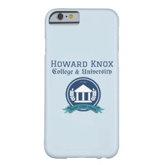 Howard Knox iPhone Fall Barely There iPhone 6 Hülle