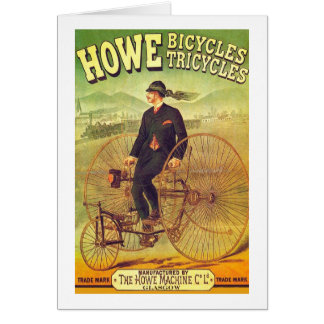 Howe Bicycle Company Karte