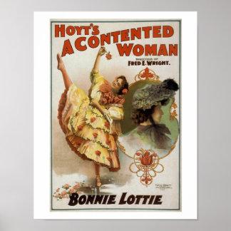 Hoyts ein zufrieden gestellte Frauen-Vintages