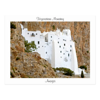 Hozoviotissa Kloster - Amorgos Postkarte