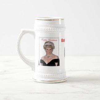 HRH die Prinzessin von Wales-Weihnachten Bierglas
