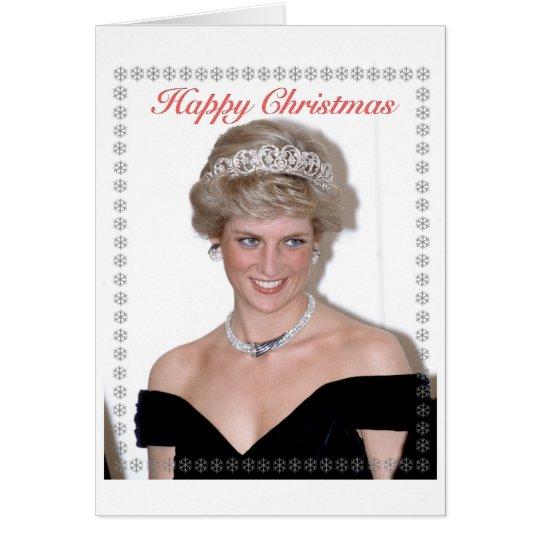 HRH die Prinzessin von Wales-Weihnachten Grußkarte