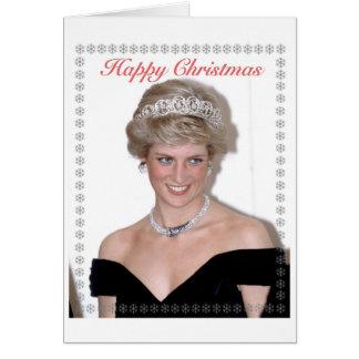 HRH die Prinzessin von Wales-Weihnachten Karte