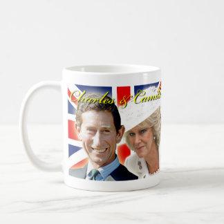 HRH Prinz Charles u. HRH Herzogin von Cornwall Tasse