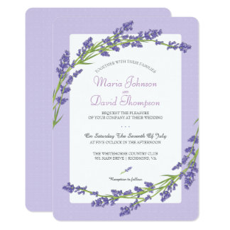 Hübsch in der lila | Wedding Einladung