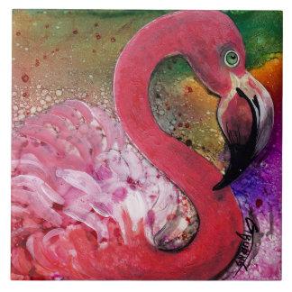 HÜBSCH IN ROSA Flamingo Trivet Entwurf durch GG Fliese