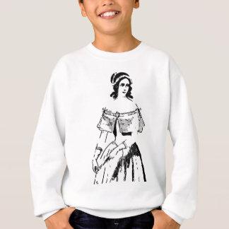 Hübsche Frau Sweatshirt