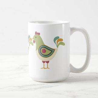 Hübsche Hühner Kaffeetasse