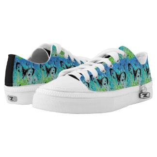 Hübsche Schmetterlings-Entwurfs-Schuhe Niedrig-geschnittene Sneaker