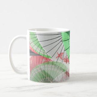 Hübsche Sonnenschirm-Tasse Tasse