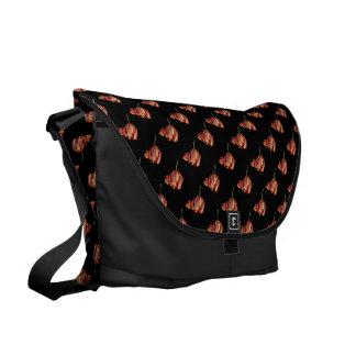 Hübsche Tulpe Kurier Tasche