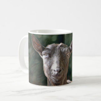 Hübsche Ziege Kaffeetasse