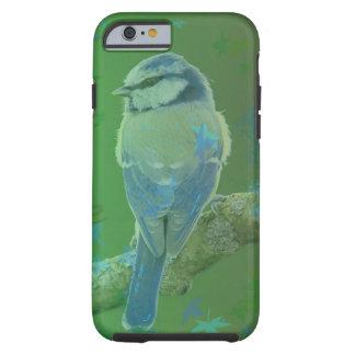 Hübscher blauer Vogel-Grün Iphone Kasten Tough iPhone 6 Hülle