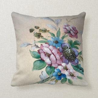 """Hübscher """"Blumenstrauß des quadratischen Kissens Kissen"""