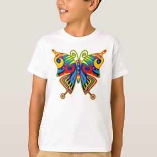 Hübscher bunter Schmetterling T-Shirt