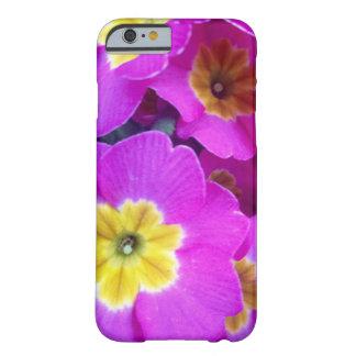 Hübscher rosa Blumen-Fotografie iPhone Fall Barely There iPhone 6 Hülle