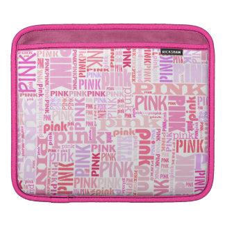 Hübscher rosa iPad Fall iPad Sleeve