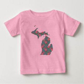 Hübscher rosa T - Shirt   Michigan der Rosen- 