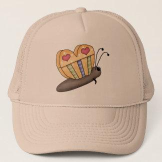 Hübscher Schmetterling Cap