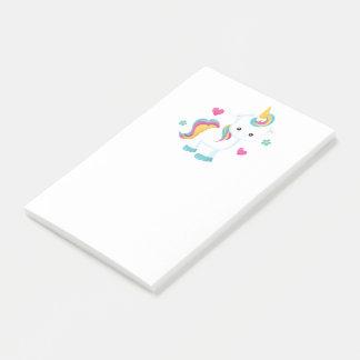 Hübscher Unicorn Post-it Klebezettel