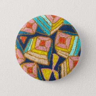 Hübscher wulstiger Kunst-Deko-Entwurf Runder Button 5,1 Cm