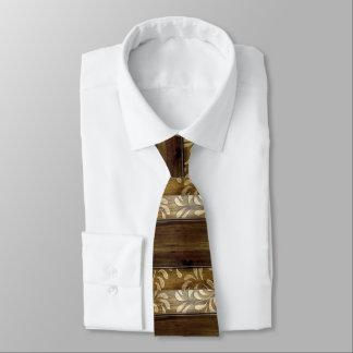 Hübsches Brown verzeichnete den hölzernen Vatertag Personalisierte Krawatten