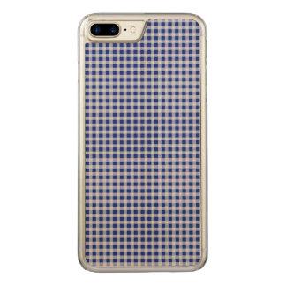 Hübsches königliches Blau-und Carved iPhone 7 Plus Hülle