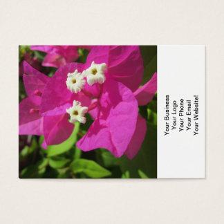 Hübsches lila Bouganvilla Visitenkarte