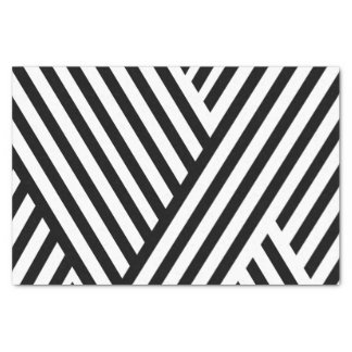 Hübsches Schwarz-weißes Seidenpapier der