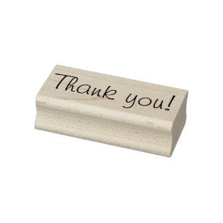 Hübsches Skript danken Ihnen Gummistempel